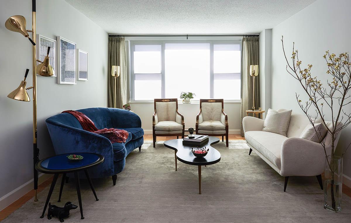 Living Room York spaces | irene c. papanestor art advisory llc