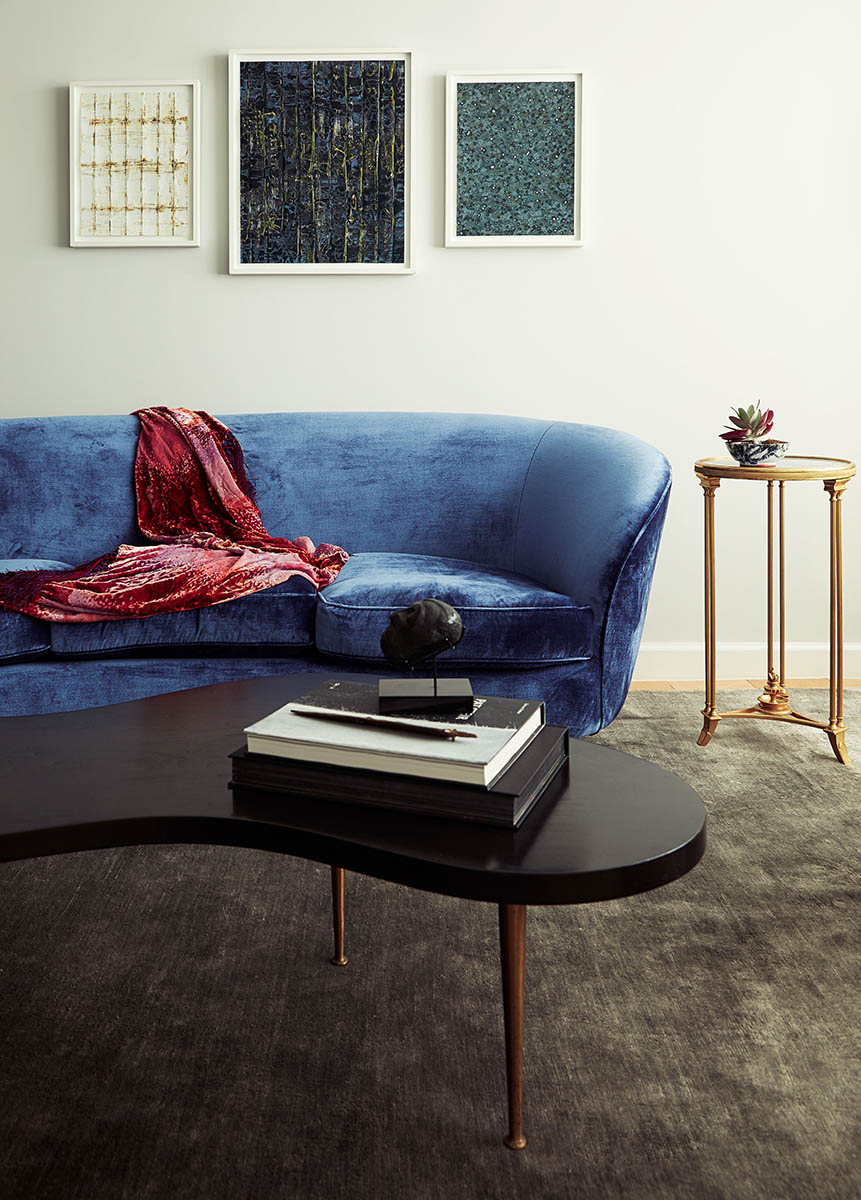 York Avenue - Blue Couch